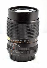 Fuji x-fujinar T 135mm F2.8- superb lens- great to adapt to DSLR/ CSC