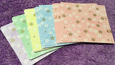 100pcs Origami Color Paper Crafts Japanese Style Sakura Beautiful Flower Floral