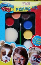 CREATIVE PLAY FACE PAINTING KIT UNISEX FUN MAKE UP PARTY DRESS UP PAINT ART