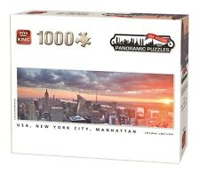 1000 Piece Panoramic Jigsaw Puzzle - NEW YORK CITY, MANHATTAN, USA 05605