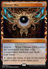 MTG CHROME MOX FOIL - MOX DI CROMO - MASTERPIECE - KI - MAGIC