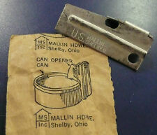 VIETNAM ERA MALLIN US MILITARY P38 P-38 CAN OPENER THE REAL DEAL SHELBY CO