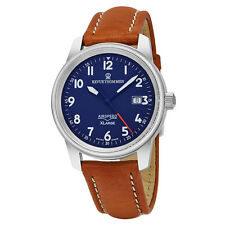 NIB Revue Thommen Air Speed XL Automatic Watch on Strap, Swiss Made, 10+ Pics