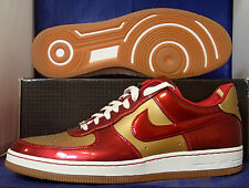 Nike Air Force 1 Downtown Leather QS Ironman AF1 SZ 12 ( 573979-700 )