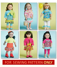 SALE! SEWING PATTERN! MAKE DOLL CLOTHES! FITS AMERICAN GIRL JULIE! 70'S! OUTFITS
