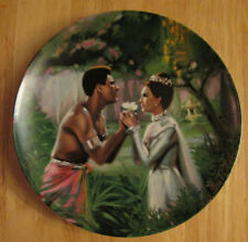 We Kiss In A Shadow The King And I Knowles Collector Plate 1985 W/ B 00006000 ox & Coa