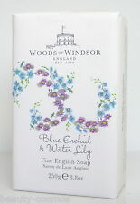 Woods of Windsor Blue Orchid & Water Lily 250g perfumed Soap/Seife
