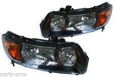 New Replacement Headlight Assy PAIR / FOR 2006-08 HONDA CIVIC 2-DOOR COUPE 2.0L