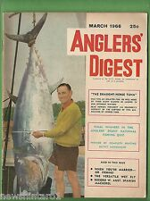 #BB5. ANGLERS DIGEST,  MARCH 1966