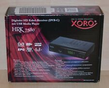Xoro HRK 7560 Digitale HD Ricevitore Cavo USB ~ ~ Media Player ~ PVR ~ DVB-C ~ B-Ware