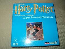 """LIVRE AUDIO """"HARRY POTTER ET LE PRISONNIER D'AZKABAN"""" lu par Bernard GIRAUDEAU"""