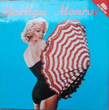 2 LP MARILYN MONROE - SAME ,NEAR MINT ,ALL ROUND TRADING 1985 DENMARK ,RARE