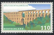Germany 1999 Bridge/Trains/Steam/Transport/Architecture/Heritage 1v (n27892)