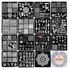 15Pcs BORN PRETTY 6*6cm Nail Art Stamp Template Image Stamping Plates BPX01-X15