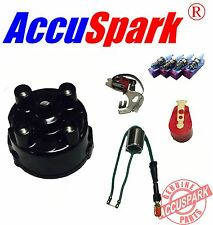 MGB AccuSpark plugs Points condenser Red Rotor arm service kit for Lucas 45D