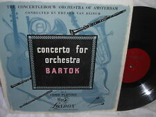 EDUARD VAN BEINUM LONDON FFRR LP LLP-5 BARTOK CONCERTO FOR ORCHESTRA
