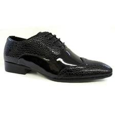 Mens Smart Shoes New Designer Jazz Spat Evening Party Gatsby Wedding Shoes Size