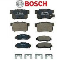 Acura TL CL RL Set of Front & Rear Disc Brake Pads Bosch QuietCast