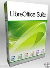 Libre Office Program CD Compatible With MS Word & Excel & Power Point for MAC