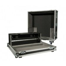 Flight Case for a Yamaha QL5 Digital Mixing Desk with Castors and Dogbox