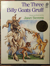 The Three Billy Goats Gruff by Janet Stevens (1990, Paperback)