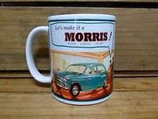 300ml COFFEE MUG, LETS MAKE IT A MORRIS! . MINOR. COWLEY . OXFORD -  OLD ADVERT