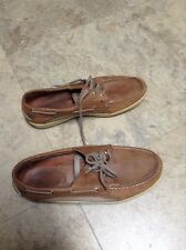 SPERRYS TOP SIDER BOAT MENS SHOES SZ 10M