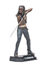 "WALKING DEAD TV SERIES COLORE TOP ROSSO MICHONNE 7 ""FIGURE McFARLANE in magazzino"