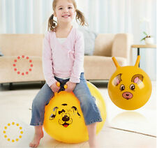 Inflatable Bouncing Ball SportToy Cartoon Animal EducationalToy Ball for Baby;IÑ