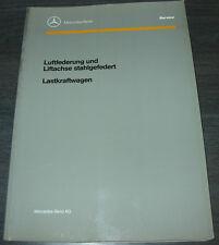 Werkstatthandbuch Mercedes LKW Luftfederung Liftachse stahlgefedert 11/1990