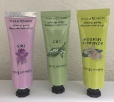 Crabtree & Evelyn Hand Cream Lotion Therapy IRIS * LILY * SOMERSET MEADOW