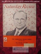 Saturday Review June 1 1957 VLADIMIR ZWORYKIN JOHN MASON BROWN Walter Millis