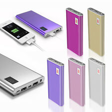 AU 50000mAh Power Bank USB Ultrathin Portable External Battery Charger For Phone
