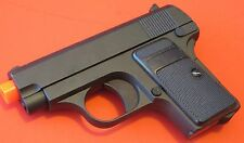 Metal Airsoft Spring Pistol Zinc Alloy Body Colt .25 Shoot 230 FPS