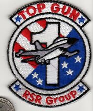 US Navy TOP GUN Fighter Pilot  Training RSR GROUP Squadron Patch