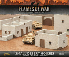 Flames of War Battlefield in a Box BNIB Small Desert Houses BB222