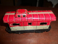 ** Vintage Louis Marx Tin New York Central NYC # 20102 Caboose Toy Train Car **