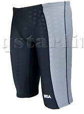 Men Male Tech Racing Competition Trunk  Swimwear Jammer Splice Size 36 / 3XL