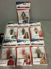 The Big Bang Theory Action Figure SET Sheldon Amy Howard Bernadette Penny Raj
