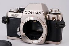 """Exc+++++"" Contax S2 60 Years Titanium SLR Film Camera Body Free Shipping A658"