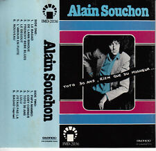 """K7 AUDIO ALAIN SOUCHON """"TOTO 30 ANS"""" (MADE IN JAPAN???)"""