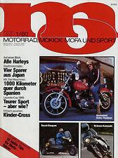 mo 1/80 1980 Ducati Darmah Mofa Fantic TX 172 Garelli 25 Rickman Kawasaki CR-2 A