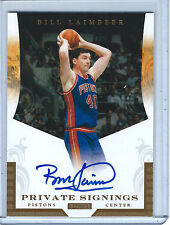 2011 BLACK BOX BILL LAIMBEER PRIVATE SIGNINGS AUTO 005/148!!! DETROIT BAD BOYS