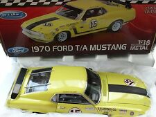 Welly 1970 Boss 302 Trans AM Mustang 15 George Follmer 1:18 Diecast Ford T/A Car