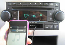 6 Disc AUX Input Factory Radio CD Cassette IPOD MP3 Stereo DODGE JEEP CHRYSLER