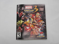 Marvel Vs Capcom Fate of Two Worlds Instruction Manual Booklet  ONLY!! (PS3)