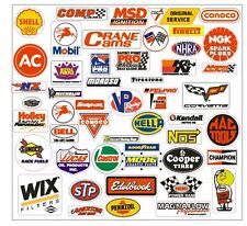 Racing Sticker Set of 26 Grab Bag For Tool Box Locker Garage Mancave Auto Bike