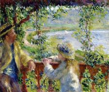 By the Water Pierre Auguste Renoir Canvas or Fine Art Picture Print New Poster