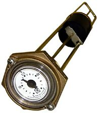"Rochester 8280 Series ""Marine"" Flat Dial Vertical Fuel or Water Level Gauge 10"""