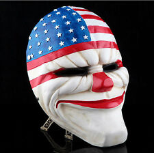 Game PAYDAY 2 The Heist Dallas Mask Cosplay Props Halloween Mask Collection